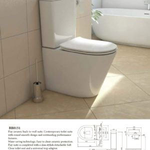 FLAY Toilet Suite BB0151